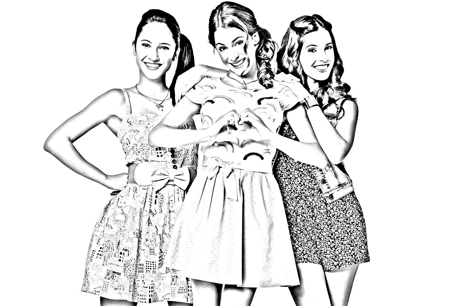 Violetta 93166 | Violetta - Coloring for kids